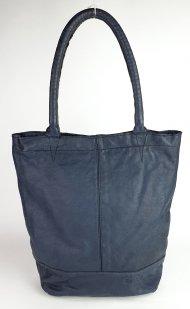Dámská italská kožená kabelka 10.0045 - Černá vintage