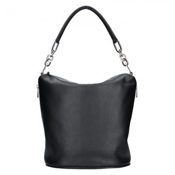 Kožená kabelka FACEBAG - MOLY
