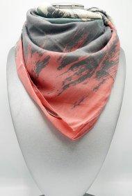 Dámský šátek z viskózy barevný