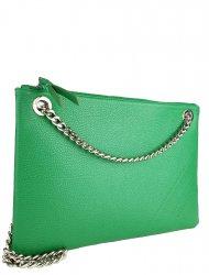Elegantní dámská kožená kabelka FACEBAG ERIN - Zelená *dolaro*