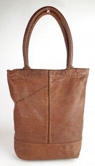 Dámská italská kožená kabelka 10.0045 - Cuoio vintage