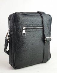 Pánská kožená taška FACEBAG MARTIN - Černá *dolaro*