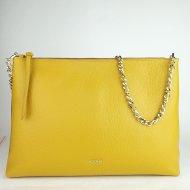 Dámská italská kožená kabelka RIPANI 9973 OZ 040 - Tmavá žlutá *dolaro*