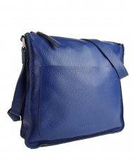 Dámská kožená kabelka FACEBAG AMY - Modrá *dolaro*