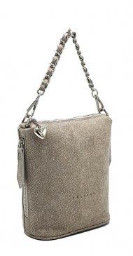 Kožená kabelka Emma II. béžová vintage