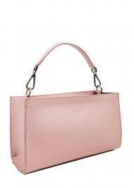 Dámská kožená kabelka FACEBAG BETY - Růžová oboustranná