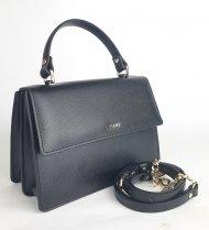 Kožená kabelka Ripani 9592 JJ 003 Verbena černá