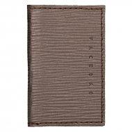 Kožené pouzdro na doklady FACEBAG 115057 - Bronzová epi