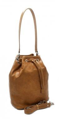 Kožená kabelka Luisa cuoio vintage