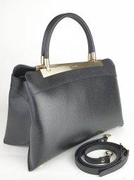 Kožená kabelka Ripani 8711 JJ 003 Calatea černá
