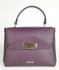 Luxusní dámská kožená kabelka RIPANI 8565 HH 052 BEGONIA - Fialová *ruga*