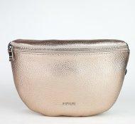 Dámská italská kožená ledvinka RIPANI 7091 OL 076 EASY BAG - Bronzová *dolaro*