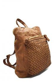 Kožený batoh 3055 cuoio vintage