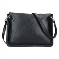 Dámská kožená kabelka FACEBAG - CANNET černá *napa*