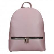 Designový kožený batůžek FACEBAG CANDY  8006 - liliový