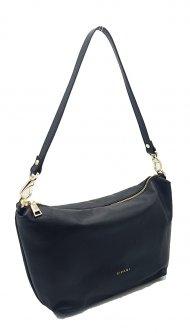 Kožená crossbody kabelka Ripani 7099 MM 003 Lira černá