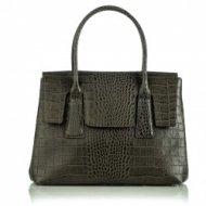 Dámská italská kožená kabelka RIPANI 8652 SO 034 ARDISIA - Olivová zelená