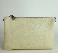 Dámská italská kožená kabelka RIPANI 7086 OJ 004 EASY BAG - Béžová *dolaro*