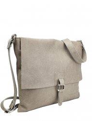 Dámská kožená kabelka FACEBAG LUCY - Béžová *vintage*