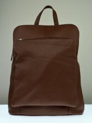 Kožený batoh KUBA -hnědá