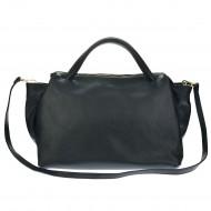 Dámská kožená kabelka MARILLA - Černá