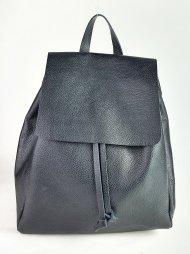 Dámský italský kožený batoh 2717 - Černá *dolaro*