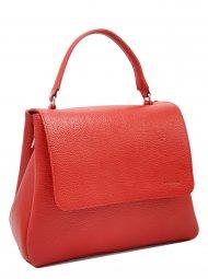 Kožená kabelka Grace červená