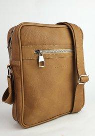 Pánská kožená taška FACEBAG MARTIN - Přírodní hnědá