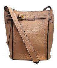 Dámská italská kožená kabelka 3226 - Pudrová *dolaro*