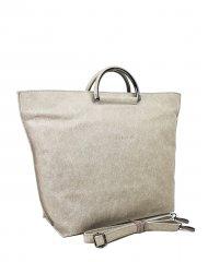 Dámská kožená kabelka FACEBAG TALIA - Béžová *vintage*