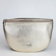 Dámská italská kožená ledvinka RIPANI 7091 OL 080 EASY BAG - Zlatá *dolaro*