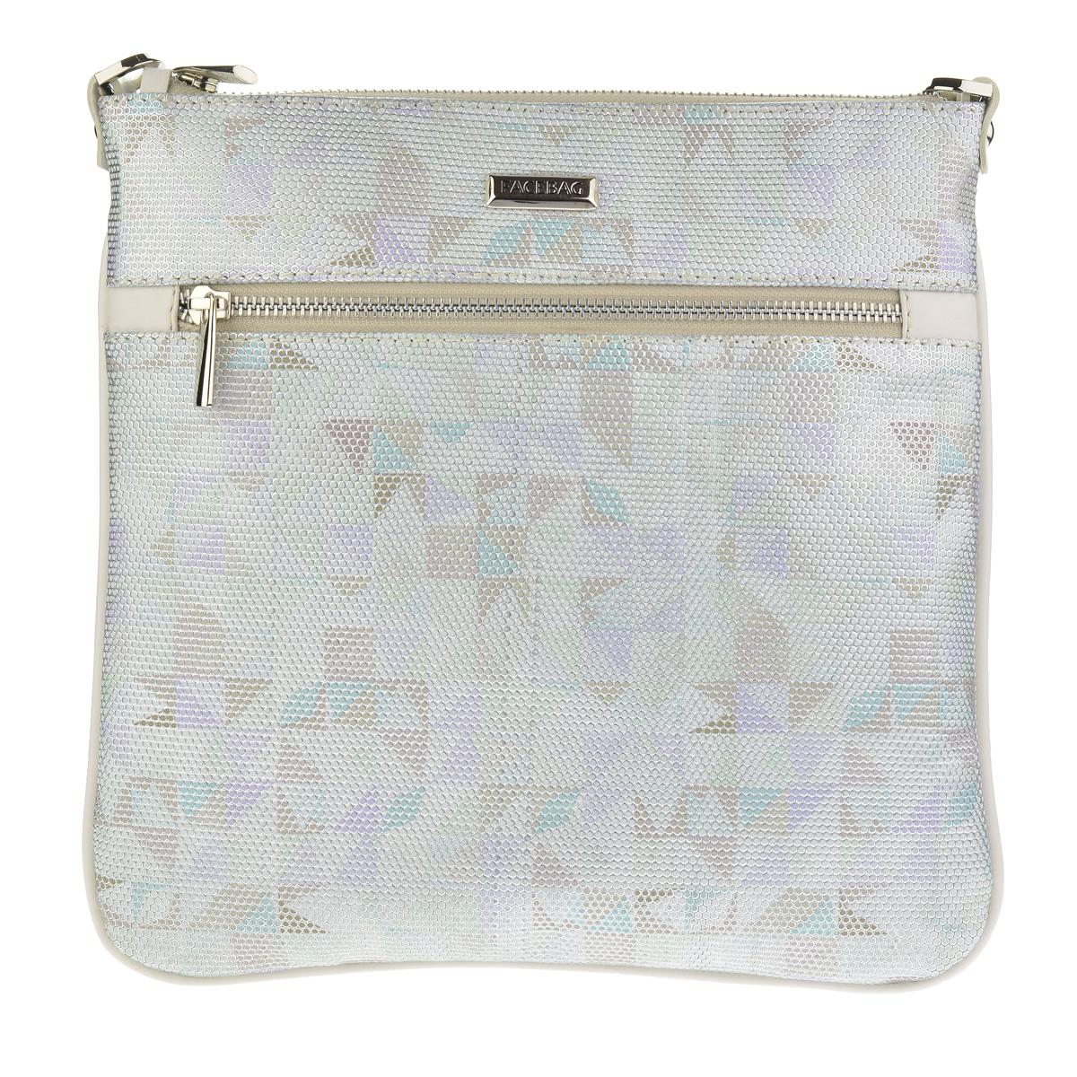 Dámská kožená kabelka FACEBAG VILMA - Mozaika + béžová  1bcf360420f