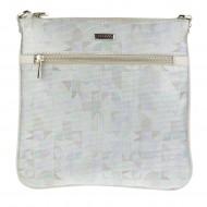 Dámská kožená kabelka FACEBAG VILMA - Mozaika + béžová