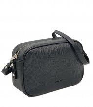 Kožená crossbody kabelka Ripani 8003 OJ 003 Easy bag černá