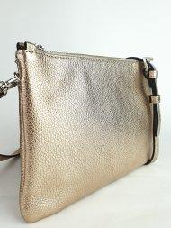 Kožená kabelka Ripani 7097 OL 076 Easy bag zlatá