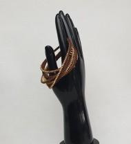 bižuterie - náramek kožený
