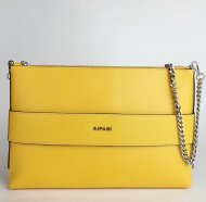 Dámská italská kožená kabelka RIPANI 9972 KC 011 GUENDA - Žlutá *palmelato*