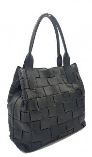 Kožená kabelka Ripani 2612 OI 003 Mira černá