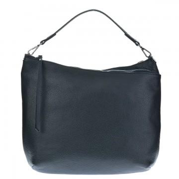 Italská kožená kabelka NERIA - Tmavá modrá
