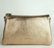 Dámská italská kožená kabelka RIPANI 7086 OL 076 EASY BAG - Tmavá zlatá *dolaro*