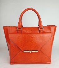 Dámská italská kožená kabelka RIPANI 2281 KK 055 MITO - Korálová lak