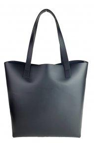 Dámská kožená kabelka FACEBAG ROSINA - Černá *ruga*