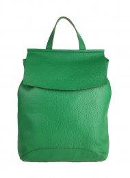 Designový kožený batůžek FACEBAG KENNY 8018 - Zelená *dolaro*