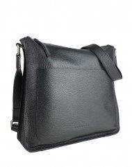 Dámská kožená kabelka FACEBAG AMY - Černá *dolaro*