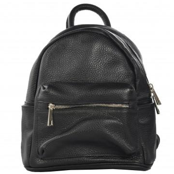 Dámský kožený batoh FRANCO - Černá