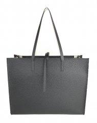 Dámská kožená kabelka FACEBAG CHERI - Oboustranná Černá + bílá *dolaro*