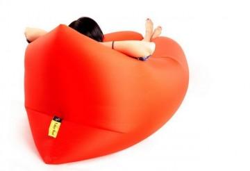 Samonafukovací pytel Lazy Bag - dvouvrstvý - oranžový