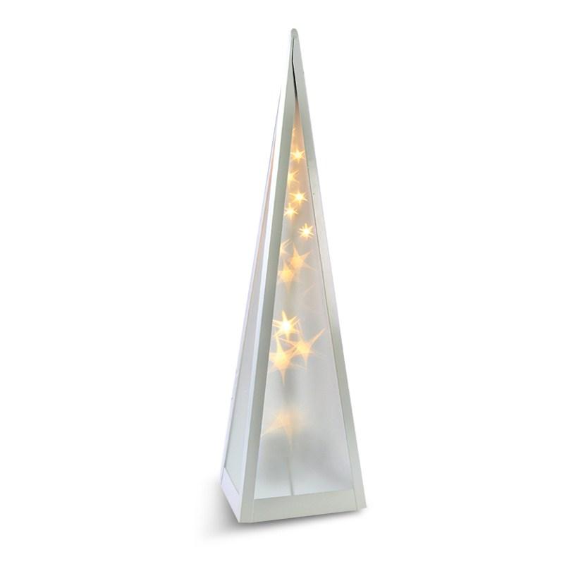 Vánoční pyramida Solight LED - otáčecí