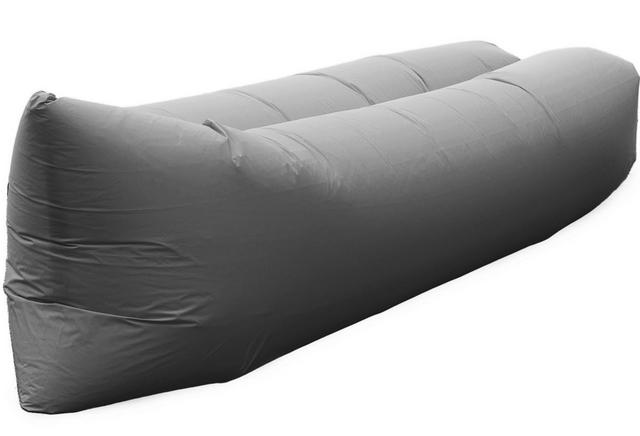 Samonafukovací pytel Lazy Bag - jednovrstvý - šedý