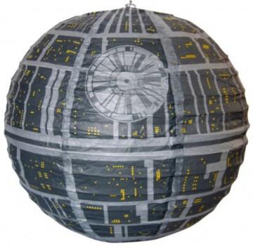 Papírové stínidlo Star Wars - Hvězda smrti